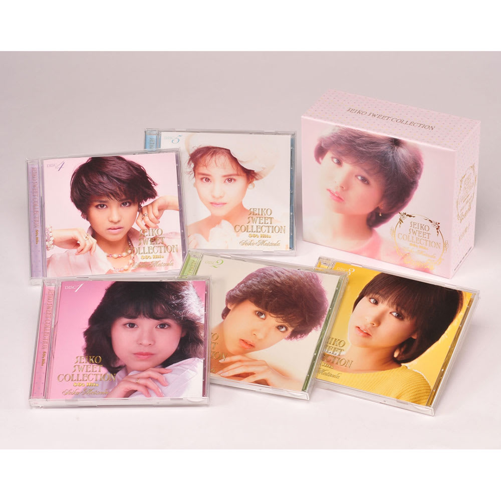 松田聖子 SEIKO SWEET COLLECTION 80's Hits CD5枚組