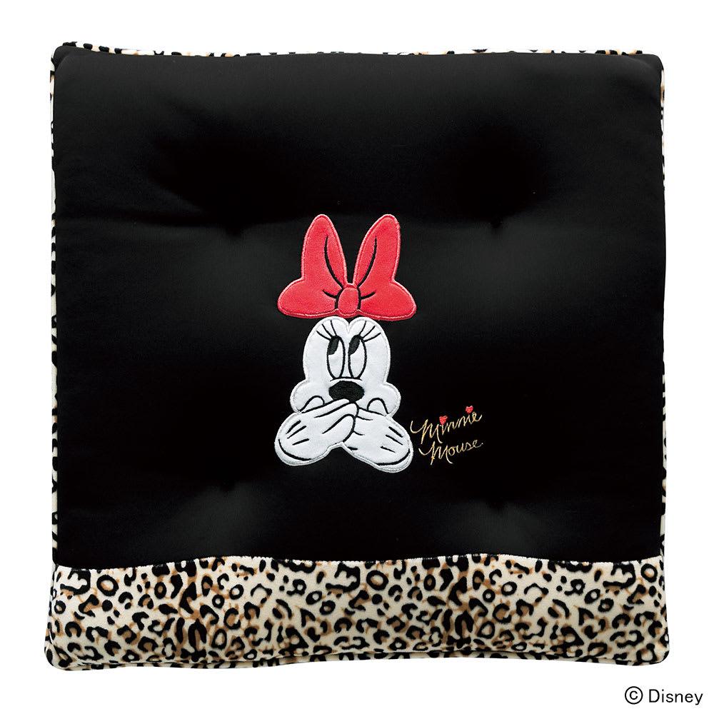 ミニーレオパードシートクッション 45×45cm Disney(ディズニー)
