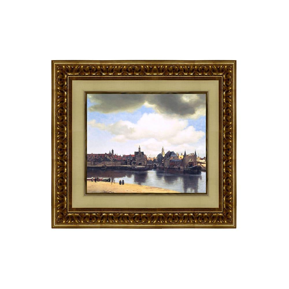 フェルメール/デルフトの眺望(複製画)