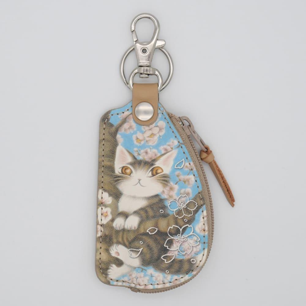 わちふぃーるど/桜色の風小銭キー 財布・スマートフォンケース・キーケース