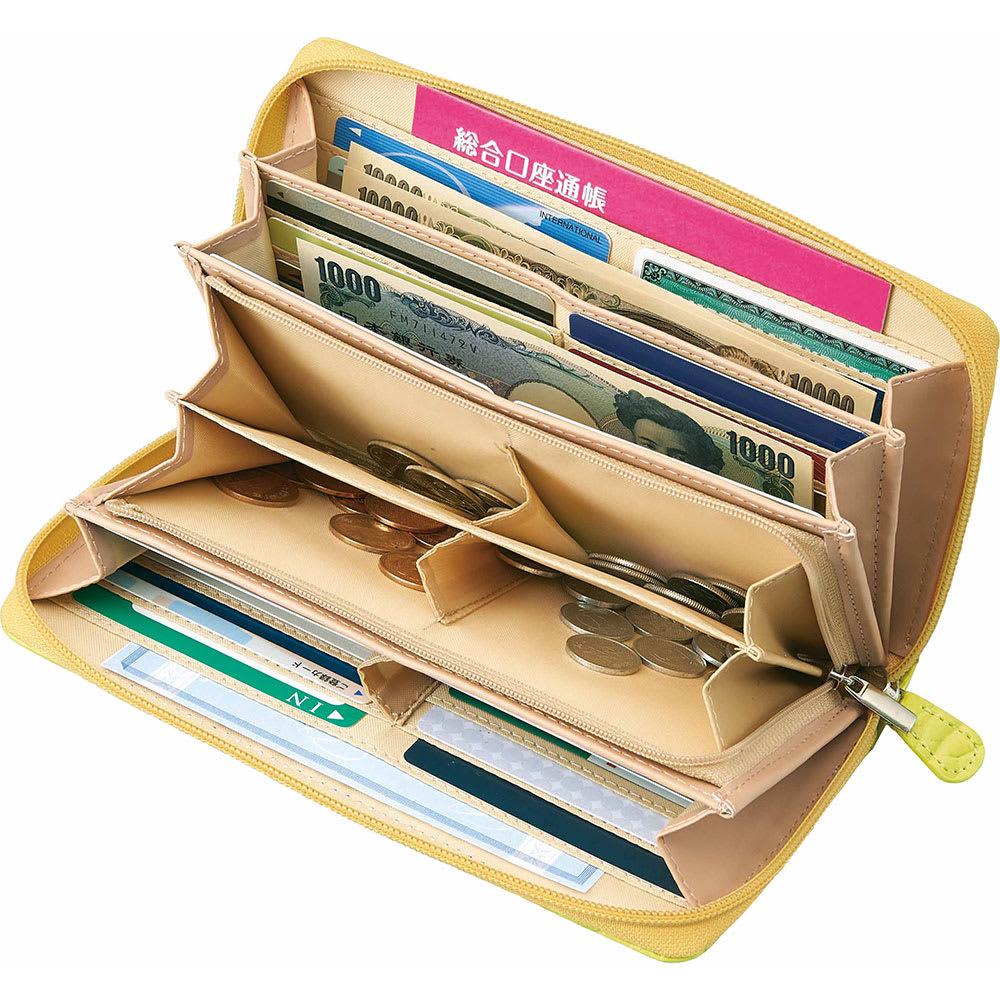 COGIT(コジット)/36カードたっぷり仕分け財布