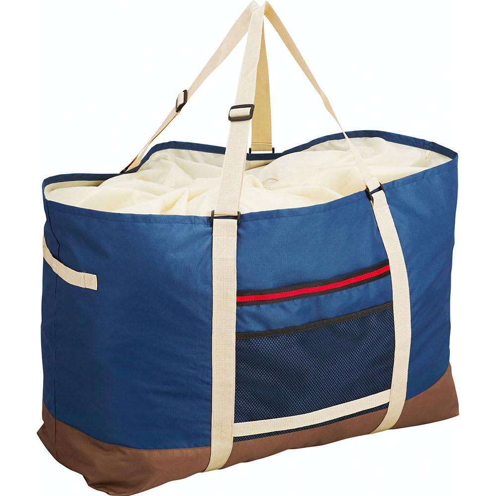 COGIT(コジット)/大型ランドリーでのまとめ洗いに!巾着袋付きドデカボストンバッグ