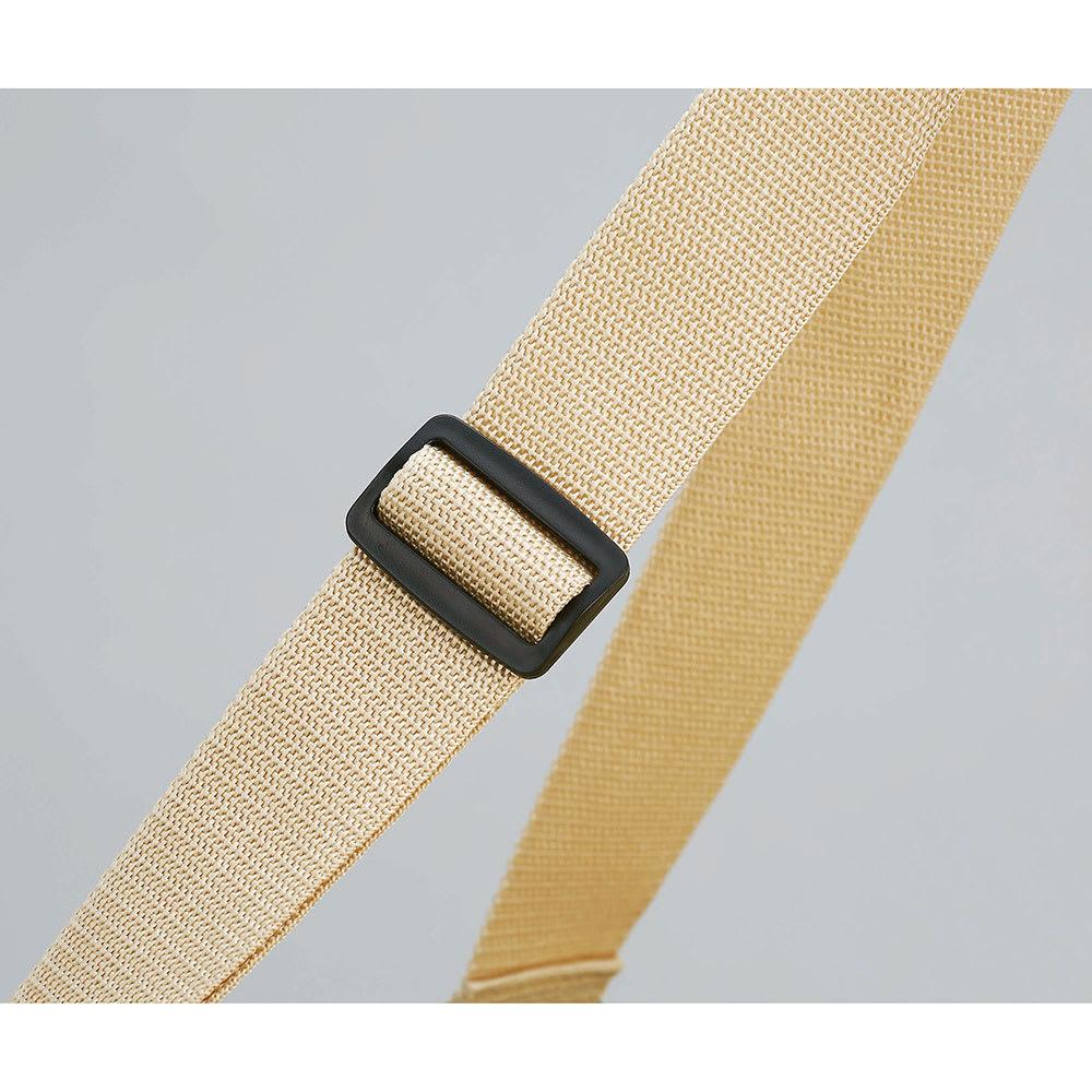 COGIT(コジット)/大型ランドリーでのまとめ洗いに!巾着袋付きドデカボストンバッグ 持ち手は長さの調節できるアジャスター付。