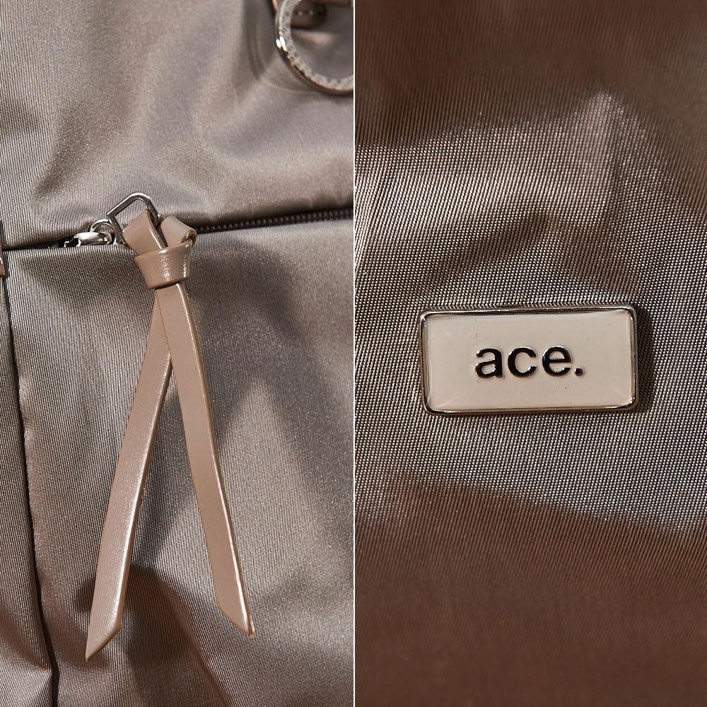ace.(エース)/フロミニン ポーチ付き ボストンバッグ