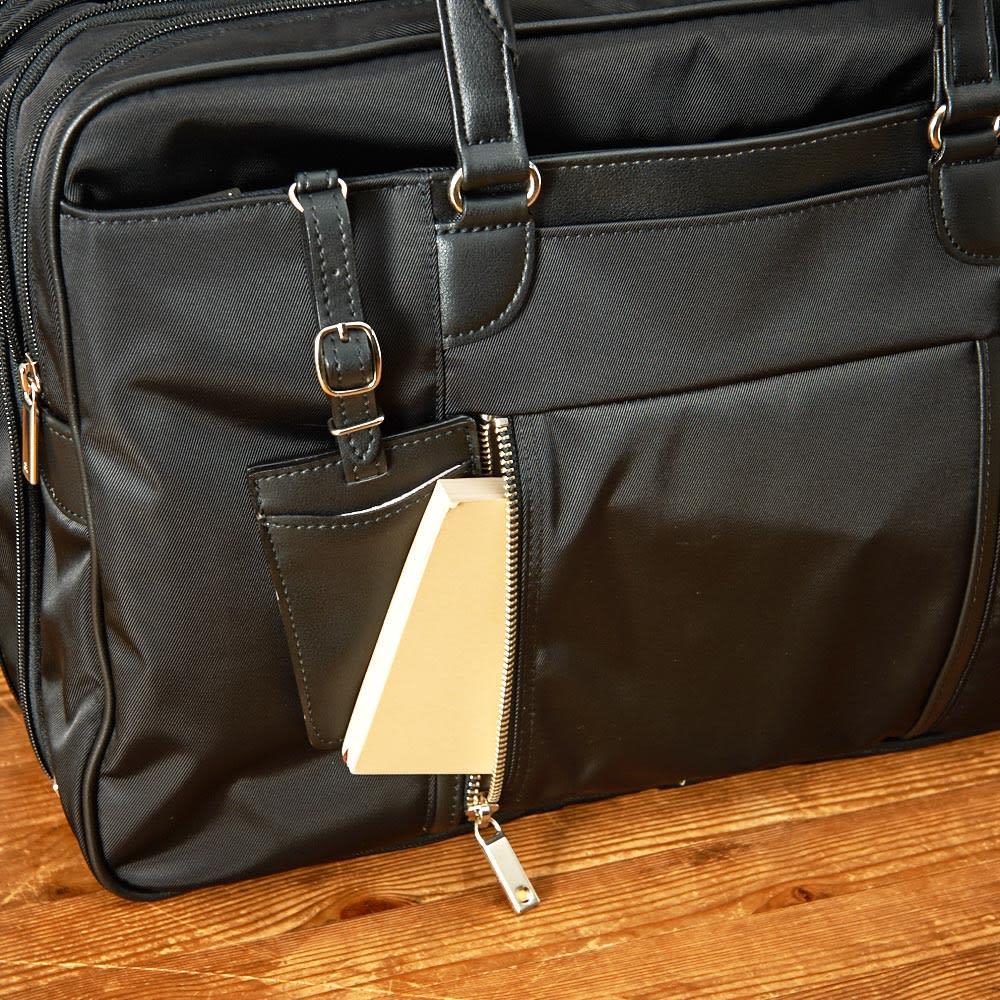 ace.GENE(エース ジーン)/ビエナ エキスパンド機能付 ビジネスバッグ 肩に掛けても取り出し易い横開きポケット