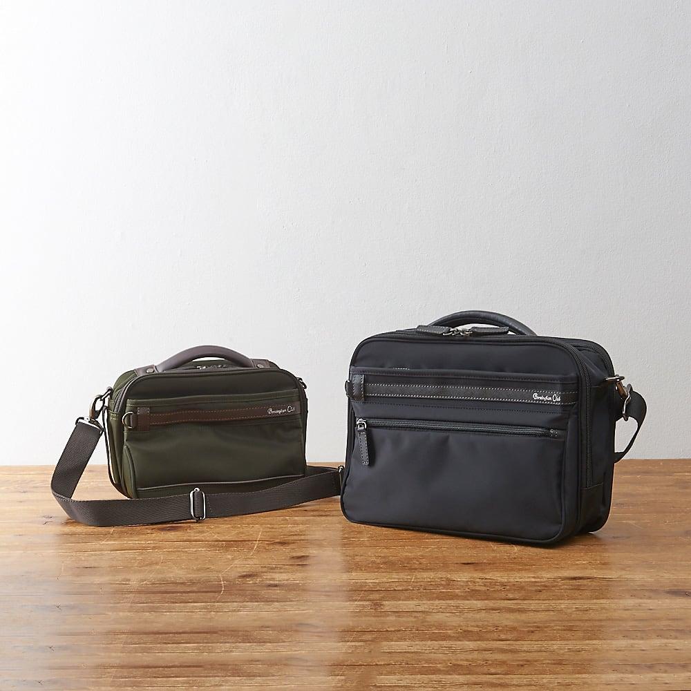 バーミンガム 横型ミニショルダーバッグ (左)ミニショルダーバッグ (右)ショルダーバッグ