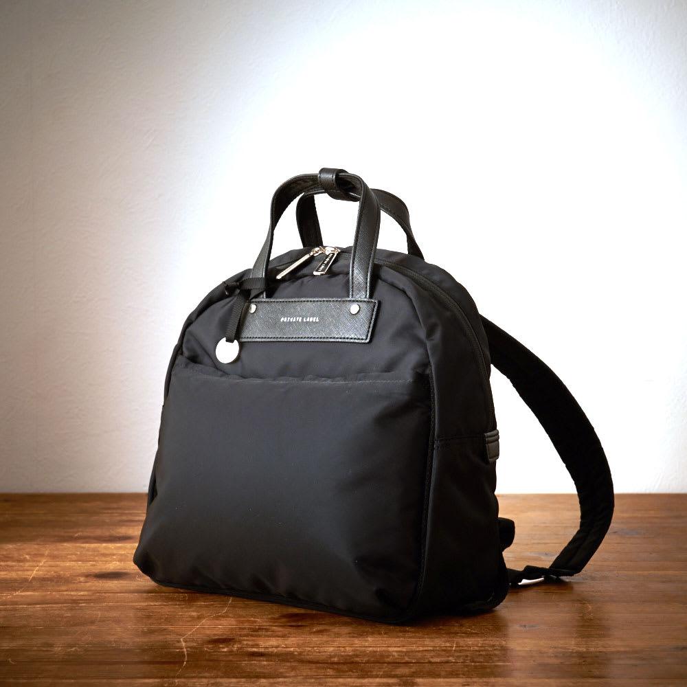 プライベートレーベル オリオールズ B5対応リュック (ア)ブラック