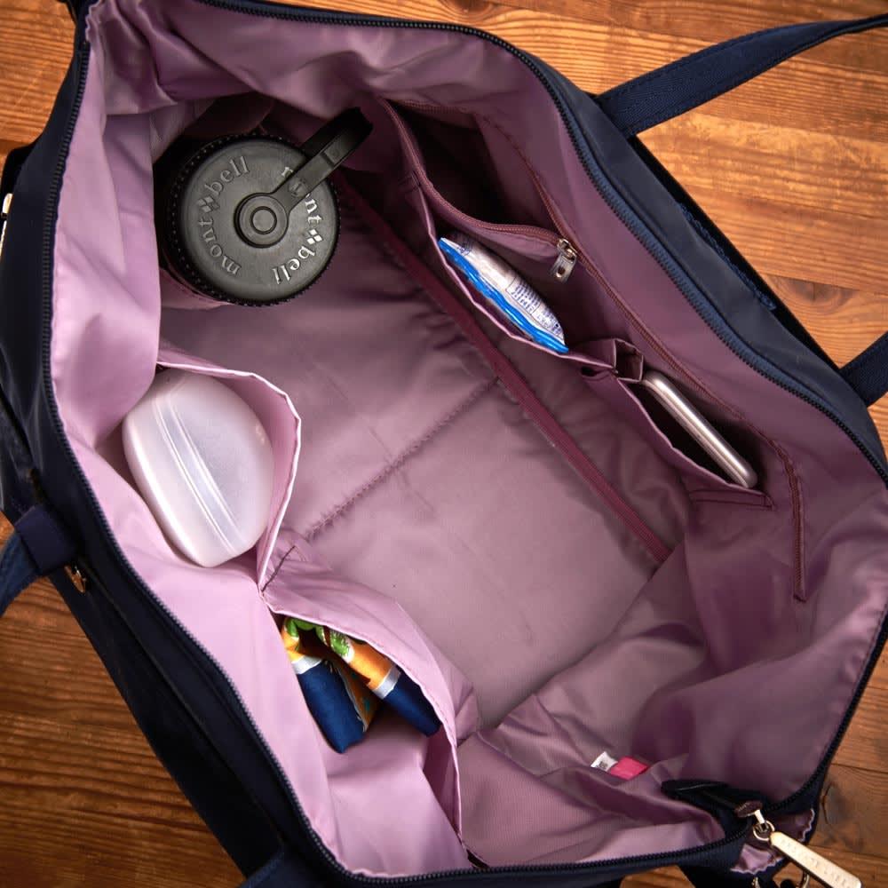 プライベートレーベル オリオールズ ボストンバッグ ペットボトルホルダーも