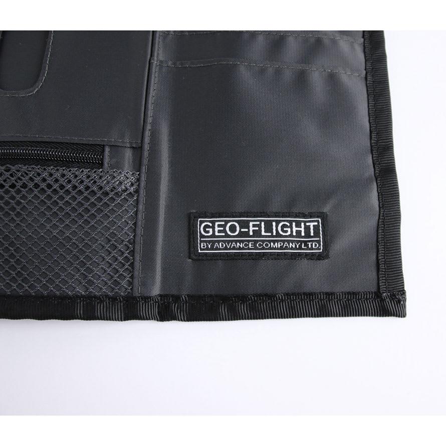 GEO FLIGHT ペンホルダーが付いたネックポーチ