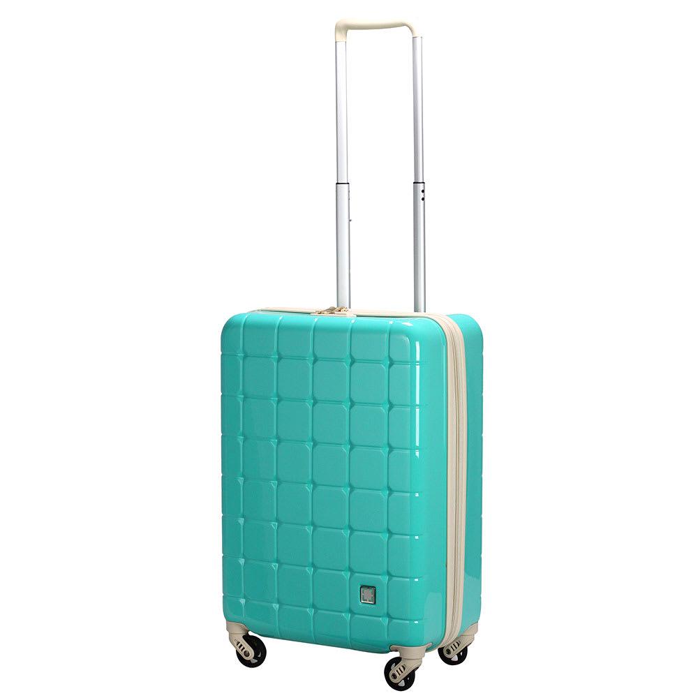 GREEN WORKS(グリーンワークス)/ハードジッパースーツケース|キャリーケース・キャリーバッグ(38L) (イ)ミントグリーン