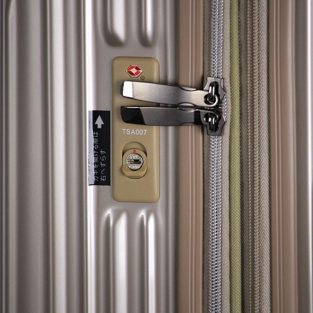 トライデント/拡張式ハードジッパースーツケース|キャリーケース・キャリーバッグ TSAロック