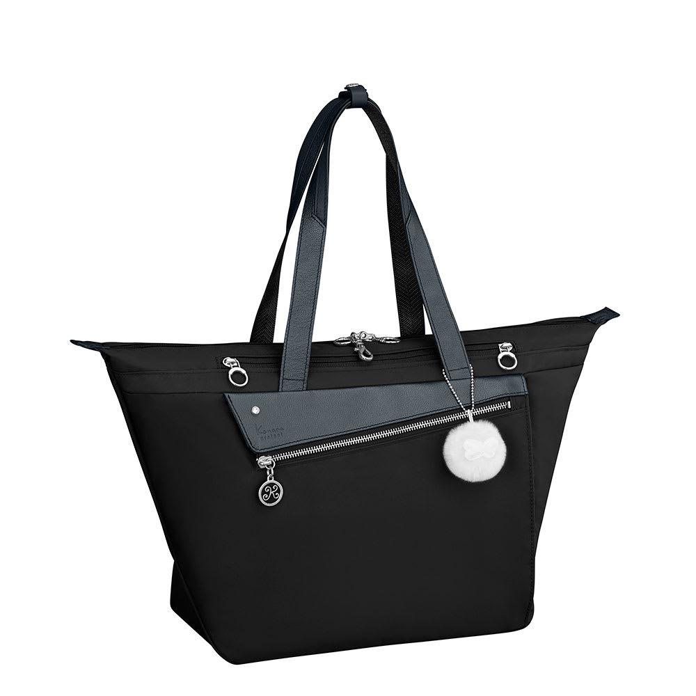 カナナプロジェクト/トートバッグ A4サイズ (ア)ブラック