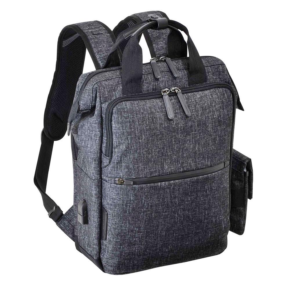 エンドー鞄/NEOPRO(ネオプロ) CONNECT ダレスパック|リュック (ウ)杢調ブラック