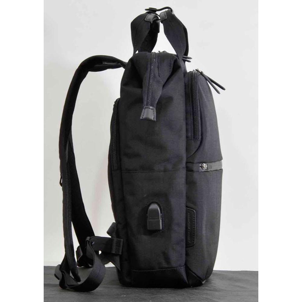 エンドー鞄/NEOPRO(ネオプロ) CONNECT ダレスパック|リュック (ア)ブラック/Side