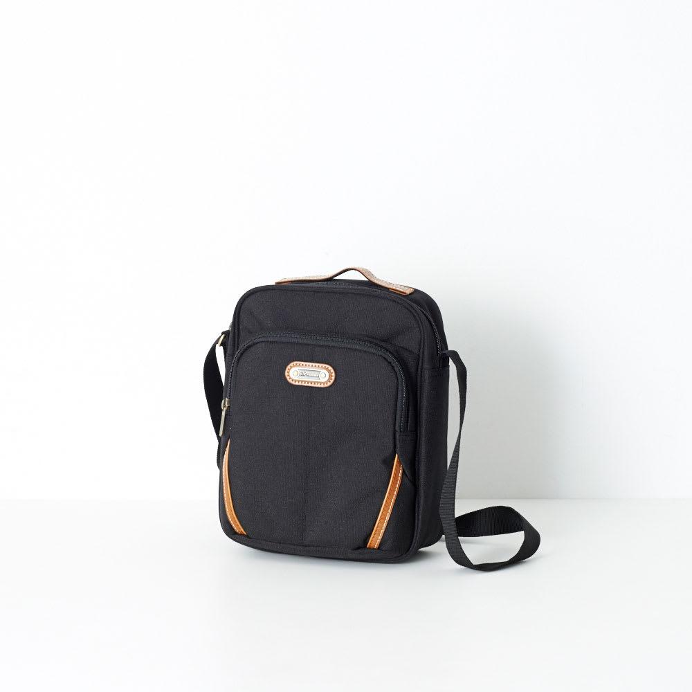 U.P renoma(レノマ)/シリル タテ型手付きショルダーバッグ (ア)ブラック