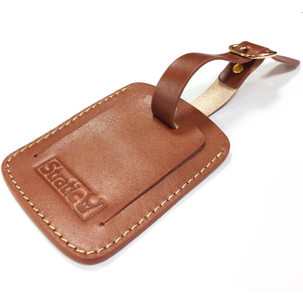 (Lサイズ 100L 4.36kg)Stratic(ストラティック)/「Leather & More」スーツケース|キャリーケース・キャリーバッグ 付属のネームタグカバー