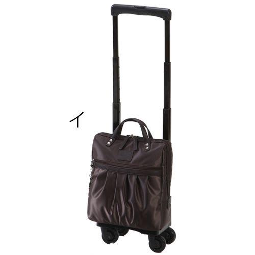 SWANY(スワニー)/支えるバッグ クレーペ 四輪ストッパー付き 約7L 2kg (イ)ダークブラウン
