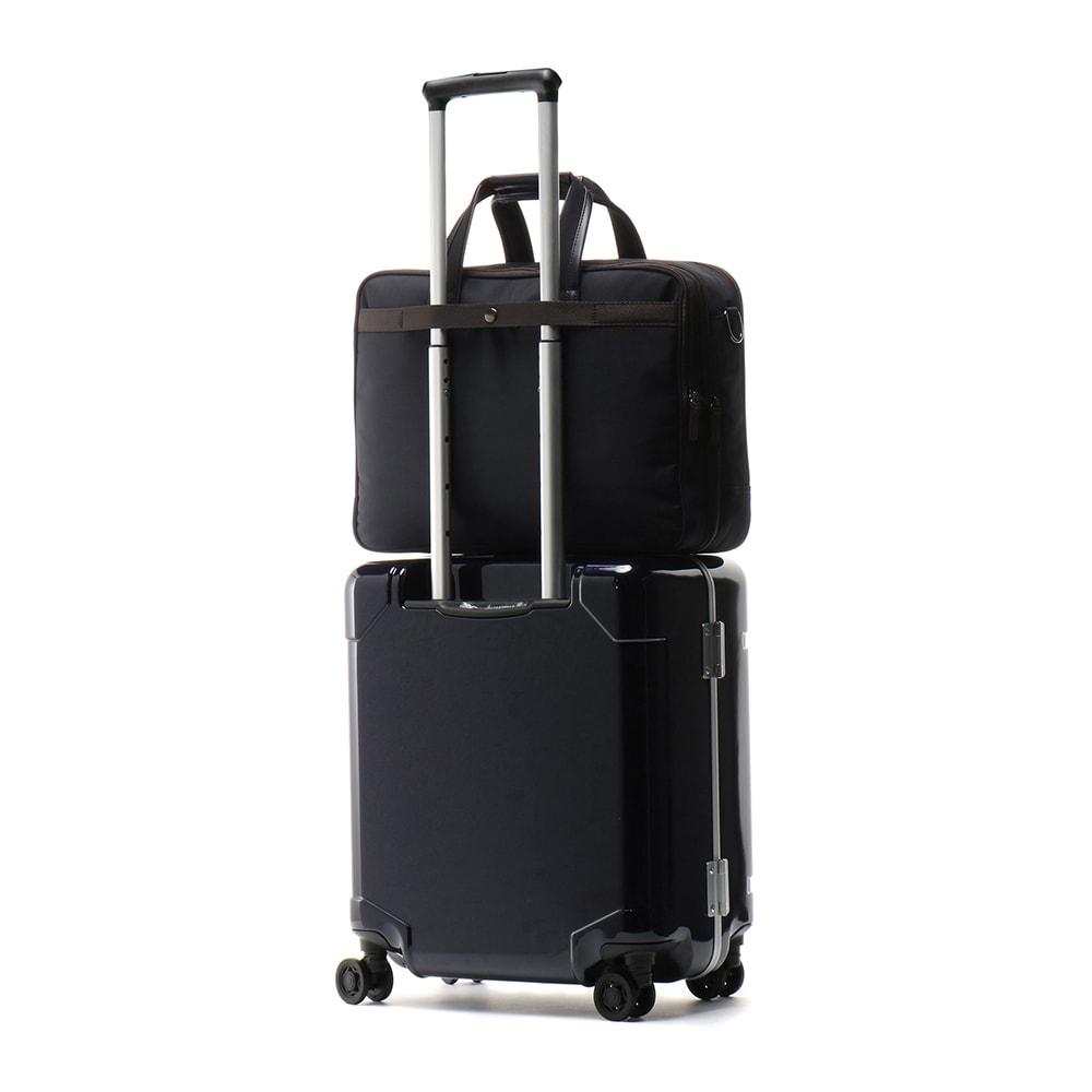 ace.(エース)/WORLD TRAVELER(ワールドトラベラー) ギャラント|2気室ビジネスバッグ (色はダミーです。本体生地はブラックです。NV3441を参照下さい。)