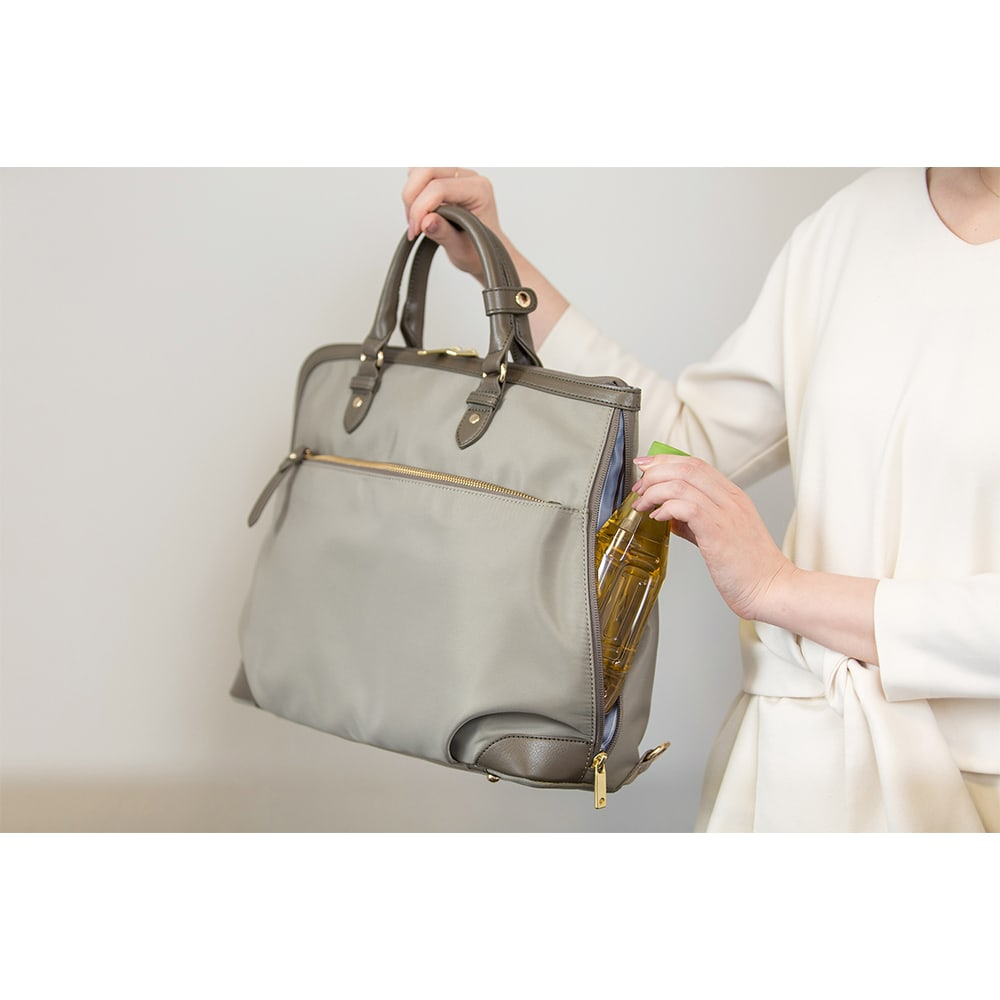 ace.GENE(エース ジーン)/エルビーサック タテ型 女性のためのビジネスリュック サイドポケット (画像は商品番号NV3504になります)