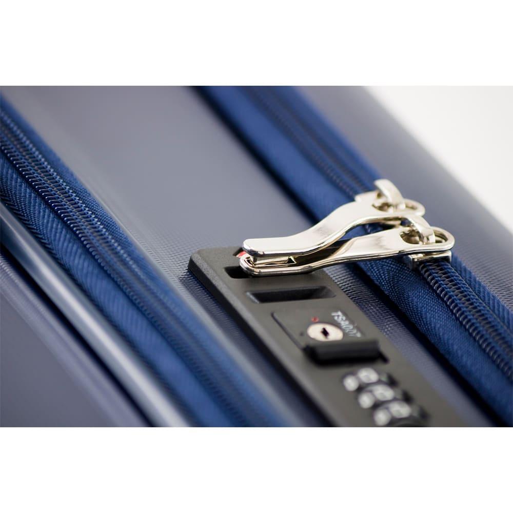 アジア・ラゲージ GALE-F24(ゲール)/フロントオープンハードキャリー 60L (イ)ネイビー…鍵