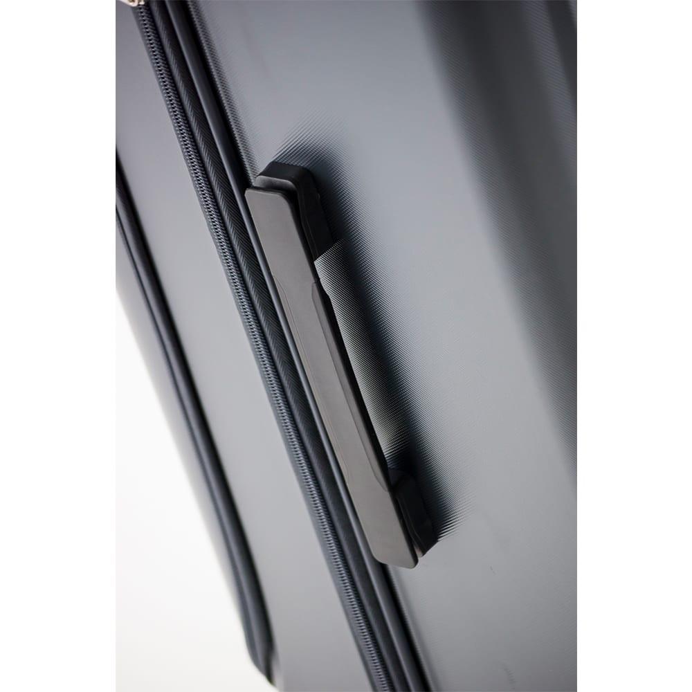 アジア・ラゲージ GALE-F28(ゲール)/フロントオープンハードキャリー 92L (ウ)ストーン…サイドハンドル
