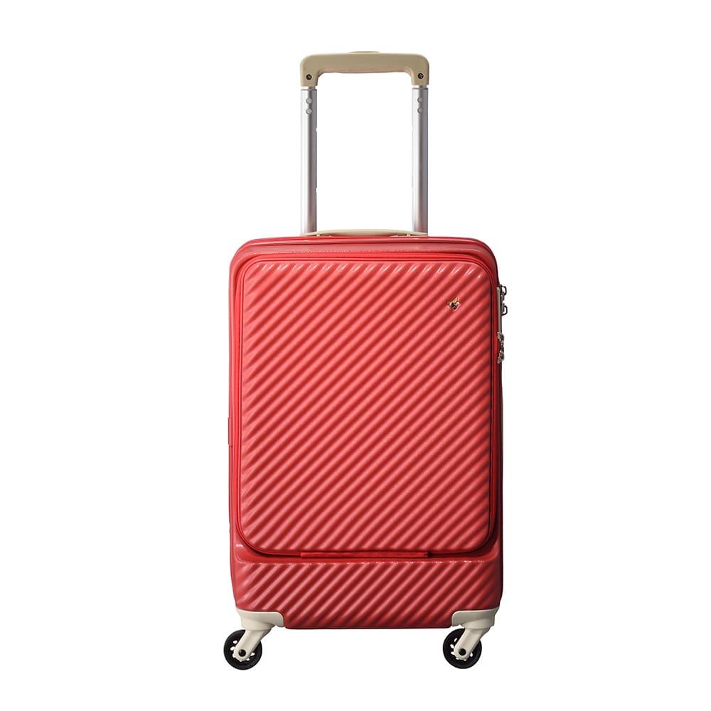 ACE HaNT(ハント) フロントポケット付スーツケース 正面