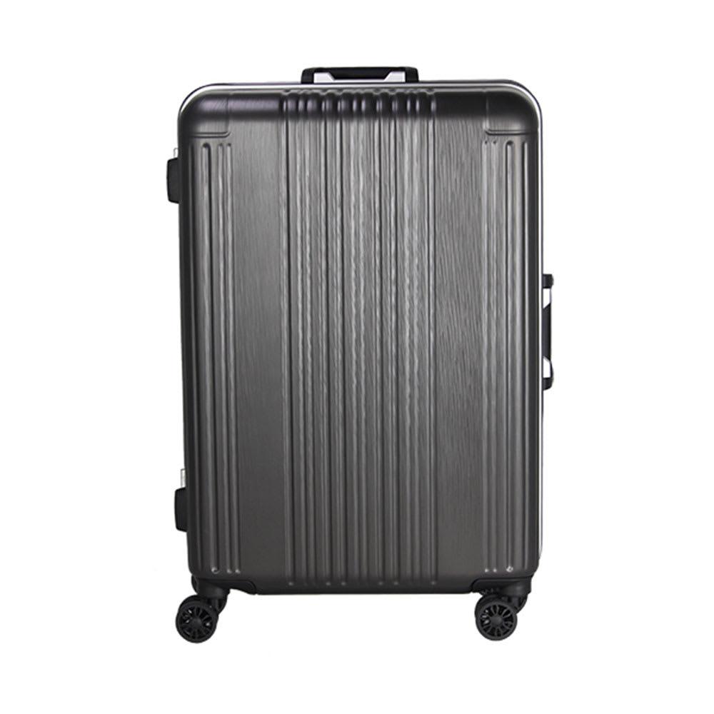 シフレ/ハードフレームケース60L 落ち着いた色合いで、大切な荷物をしっかり守るアルミフレームのボディ