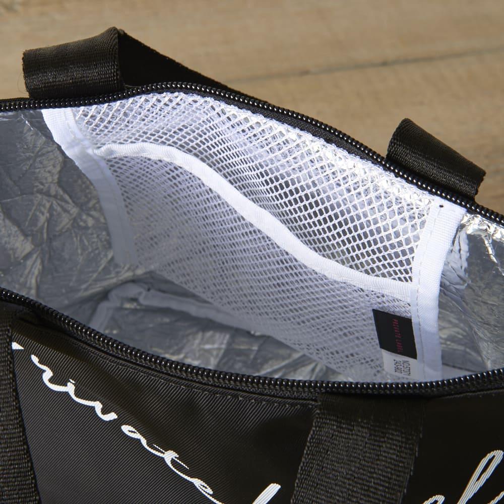 Private Label(プライベートレーベル)/エスミー 保冷機能搭載ミニトート 保冷剤入れとしても使用できるメッシュポケット付き