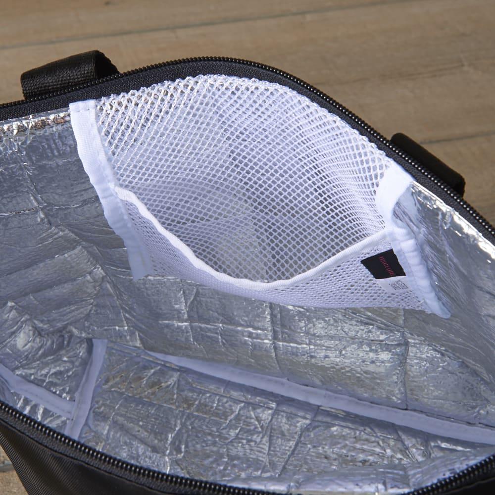 Private Label(プライベートレーベル)/エスミー 保冷機能搭載トートバッグ 保冷剤入れとしても使用できるメッシュポケット付き