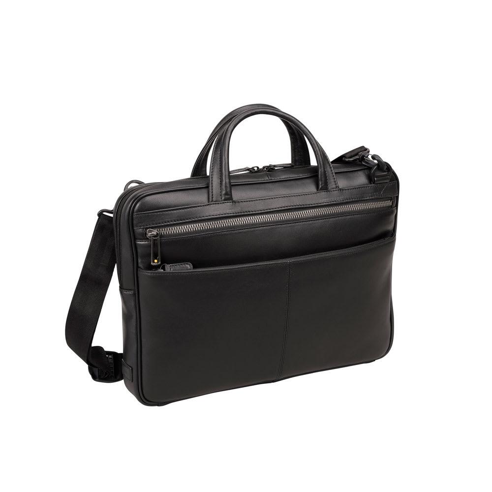 ace.GENE(エース ジーン)/ペルライトⅡ A4ファイル収納 薄マチの軽量レザービジネスバッグ