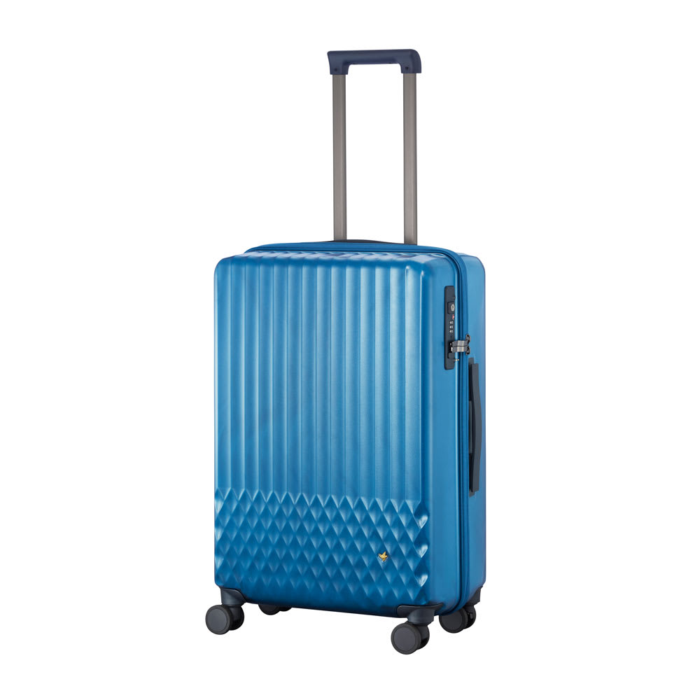 ACE HaNT(ハント)/ソロ ストッパー付スーツケース 53L (イ)トパーズブルー