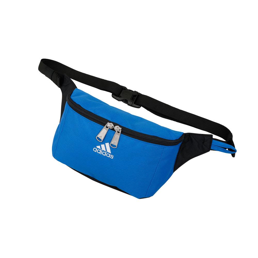 adidas(アディダス)/ミットライト ウエストポーチ (エ)ブルー