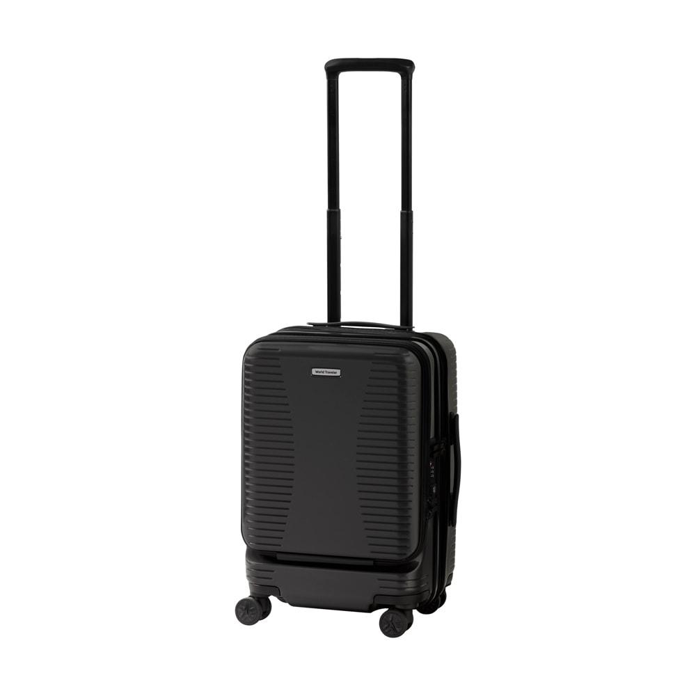 WORLD TRAVELER(ワールドトラベラー)/プリマス 1~3泊用スーツケース (ア)ガンメタリック