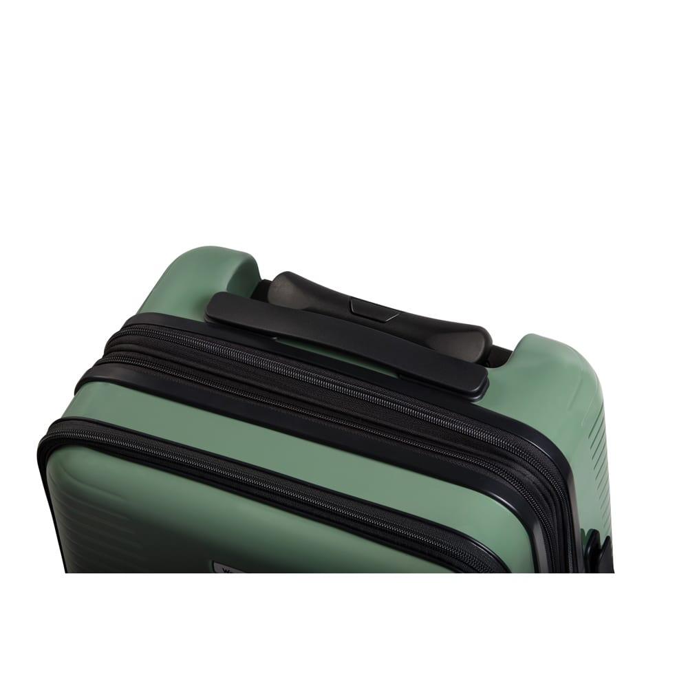 WORLD TRAVELER(ワールドトラベラー)/プリマス 1~3泊用スーツケース 荷物を載せやすいフラットハンドルを採