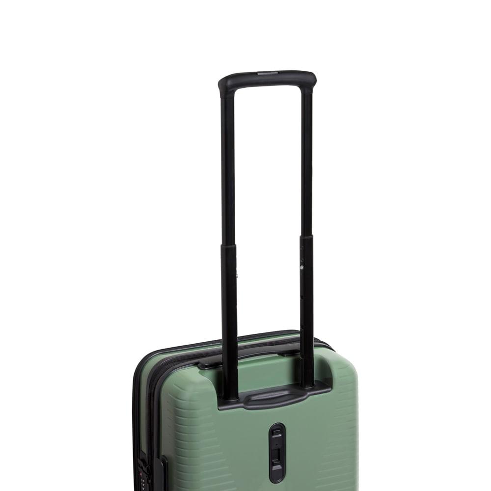 WORLD TRAVELER(ワールドトラベラー)/プリマス 1~3泊用スーツケース 身長や使用シーンに合わせて高さを調節可能な多段階システムハンドルを装備