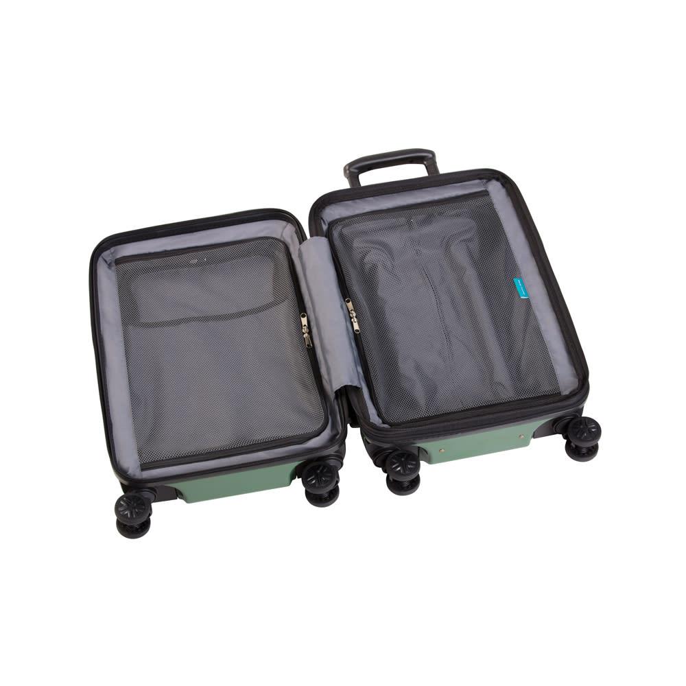 WORLD TRAVELER(ワールドトラベラー)/プリマス 1~3泊用スーツケース 両面ともにファスナー式スペースを採用した内装