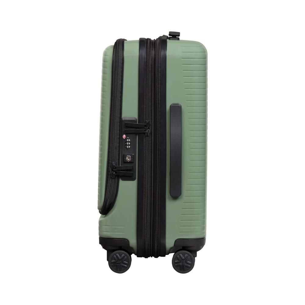 WORLD TRAVELER(ワールドトラベラー)/プリマス 5泊~1週間向けスーツケース 荷物の量に応じてスーツケースのスペースを調整できます