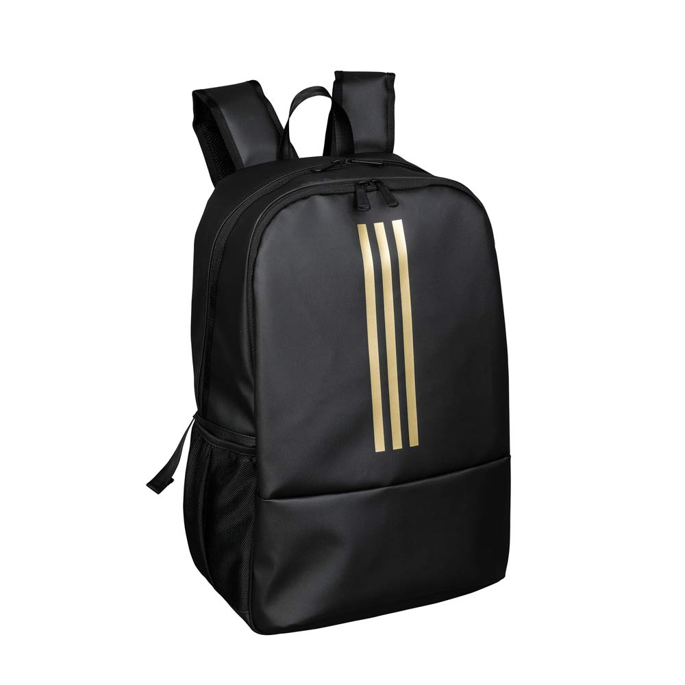 adidas(アディダス)/フォルカー 大容量リュック (ウ)ブラック×ゴールド