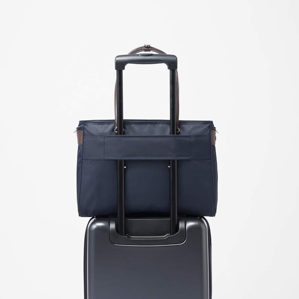ace.GENE(エース ジーン)/ビエナ2 毎日の通勤に。A4サイズ通勤トートバッグ お持ちのキャリーにセットアップして持ち運べます