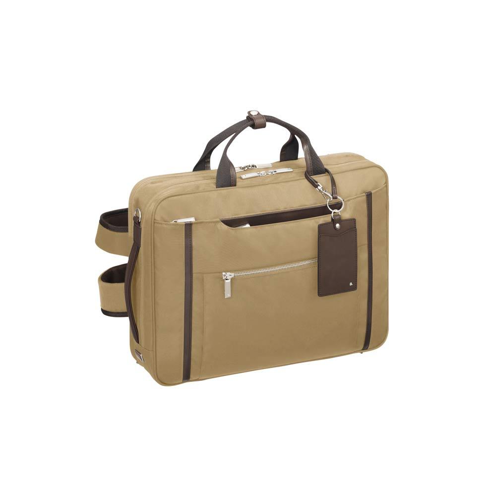 ace.GENE(エース ジーン)/ビエナ2 毎日の通勤に ビジネススタイルにも使いやすい3WAY仕様ビジネスバッグ (ウ)ベージュ