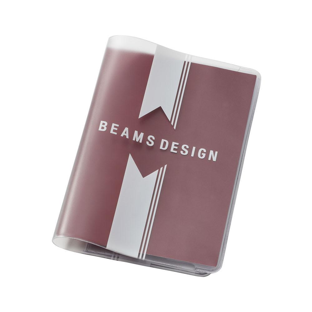 BEAMS DESIGN(ビームス デザイン)/クリアパスポートカバー バーコード (イ)ストライプ