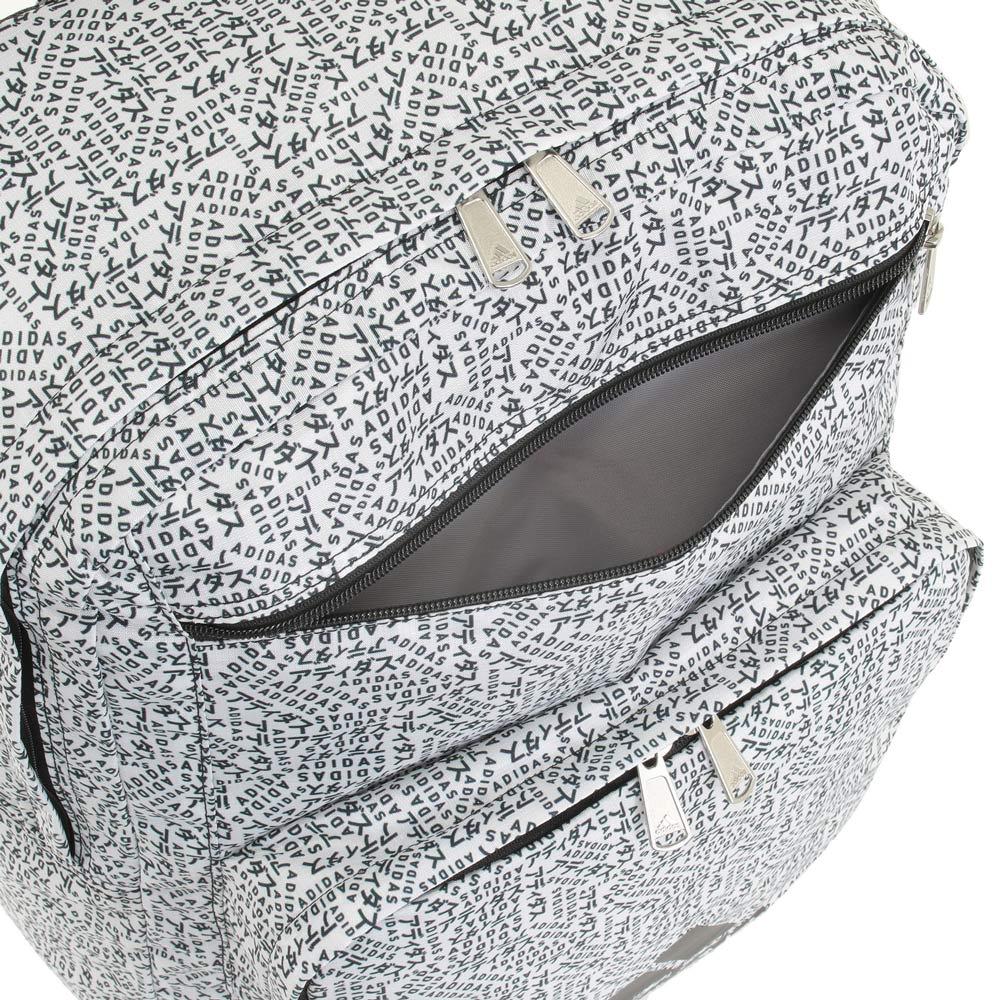 adidas(アディダス)/スクエアリュック 前ファスナーポケット1