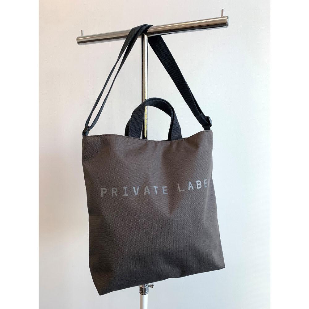 Private Label(プライベートレーベル)/ケリー ショルダートート (ア)オフブラック