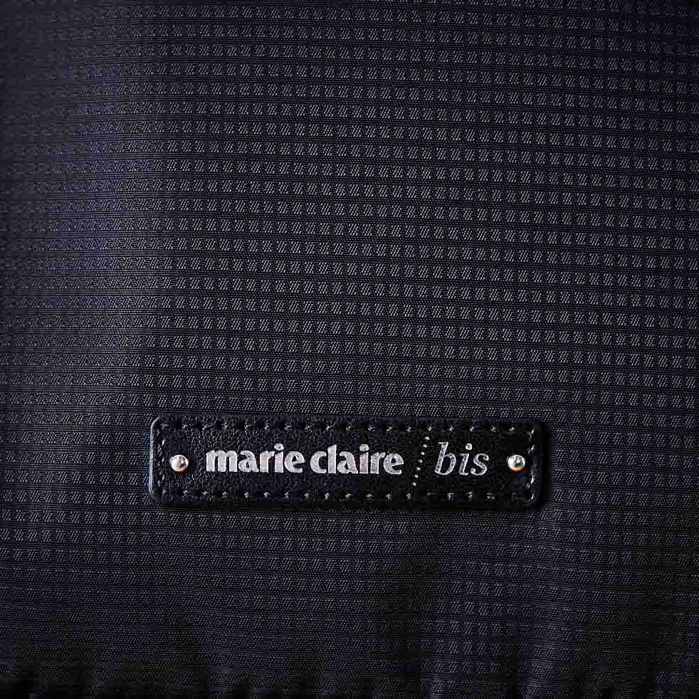 marie claire bis(マリ・クレール ビス)/エブド コンパクトリュック (ア)ブラック…生地アップ
