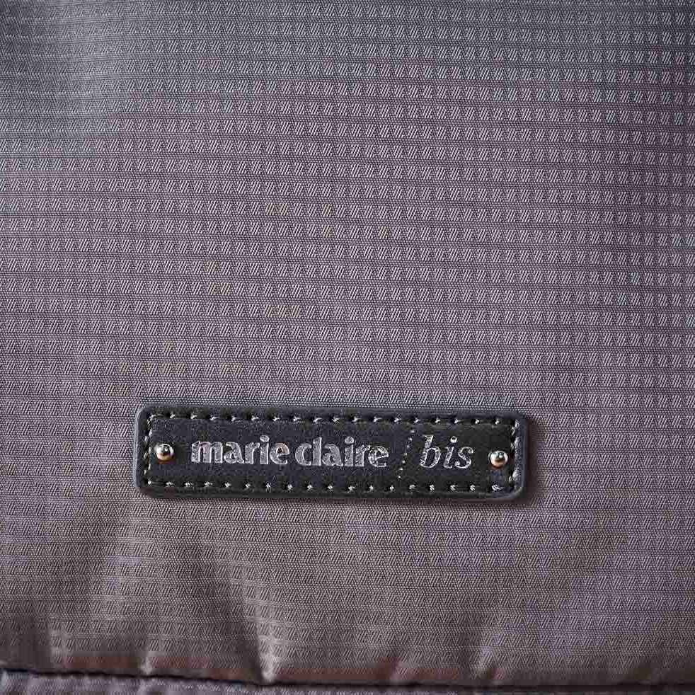 marie claire bis(マリ・クレール ビス)/エブド コンパクトリュック (ウ)ベージュ…生地アップ