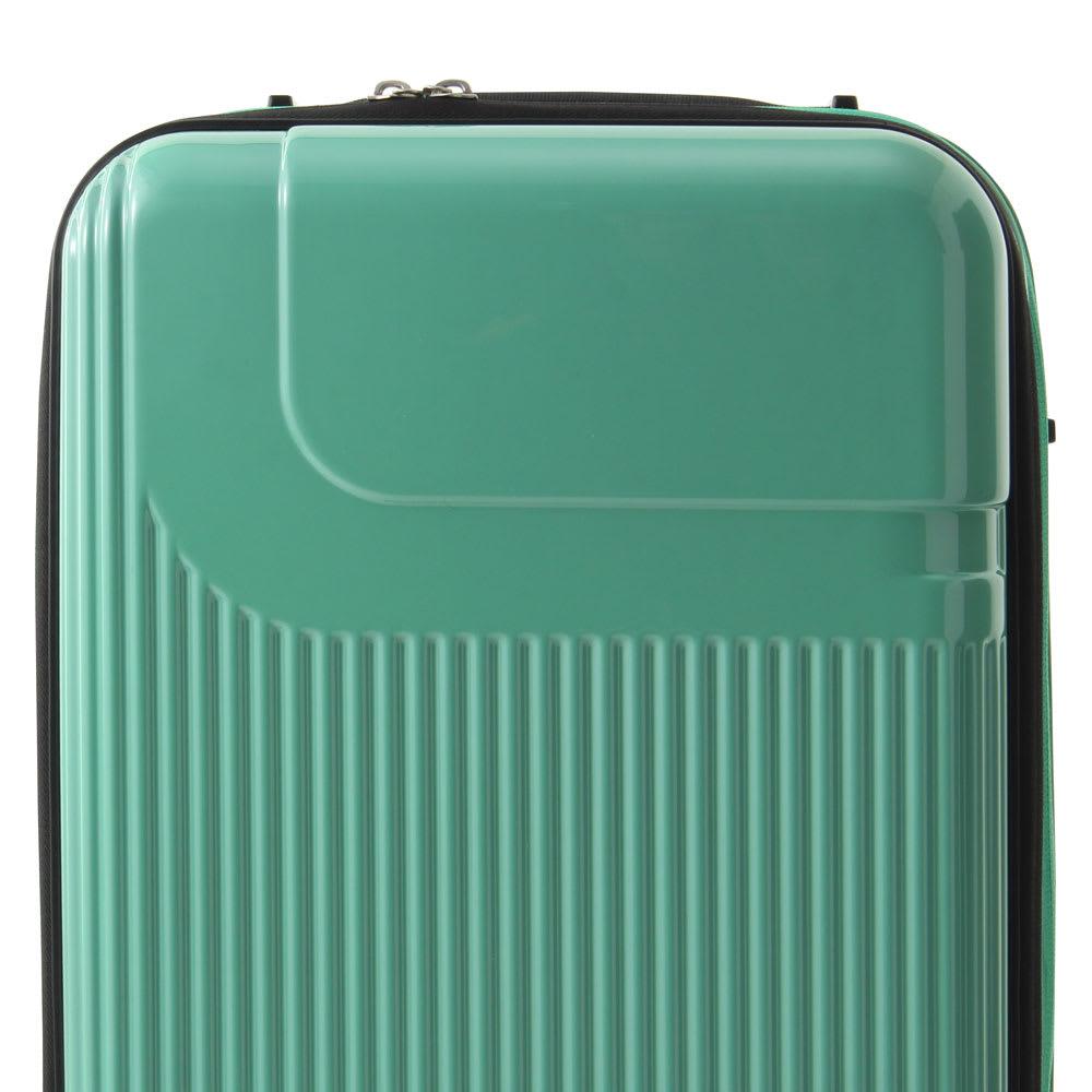 ace.(エース)/ロカベル 小型コインロッカーに入るスーツケース 26L ボディ表面は光沢が上品な鏡面加工