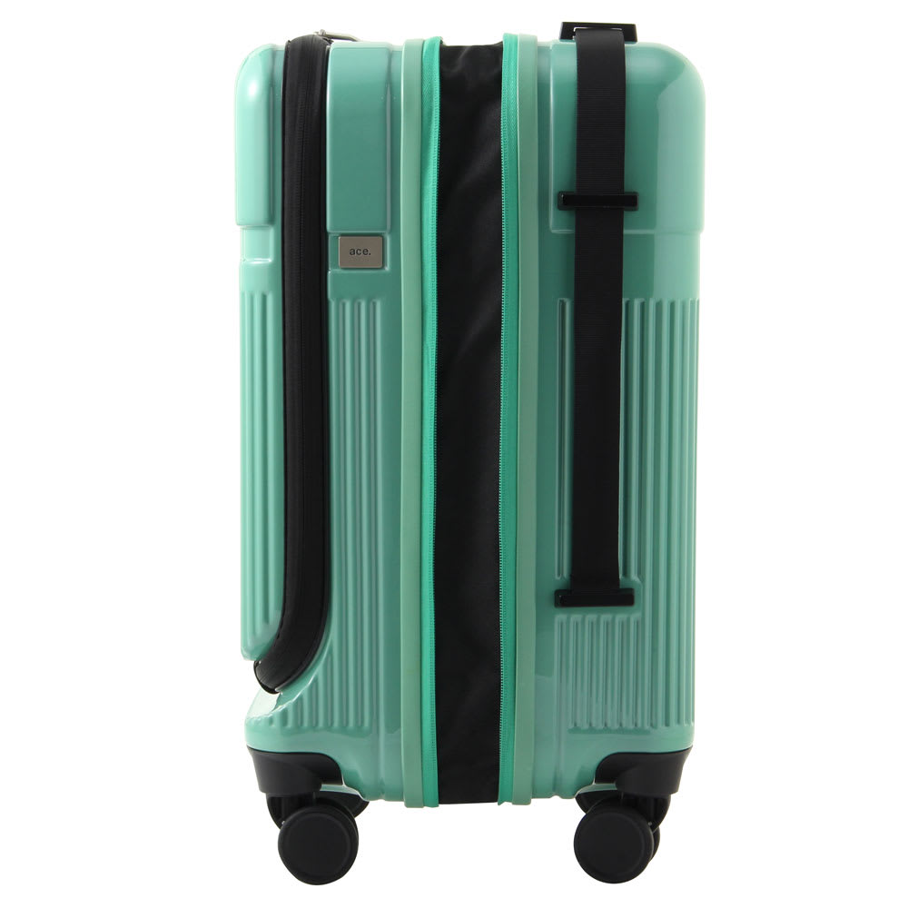 ace.(エース)/ロカベル 小型コインロッカーに入るスーツケース 26L マチ幅を広げ容量を拡張できるエキスパンダブル機能-2