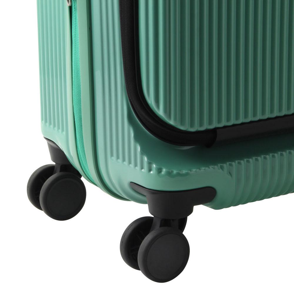 ace.(エース)/ロカベル 小型コインロッカーに入るスーツケース 26L 旋回性に優れた双輪キャスターを採用