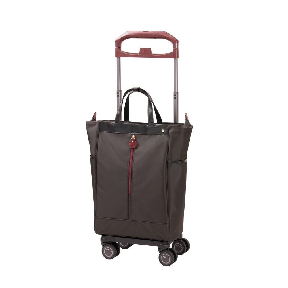 SOELTE/アルディートTR 普段のお出かけをしっかり支えるトローリーバッグ (ウ)ダークグレー