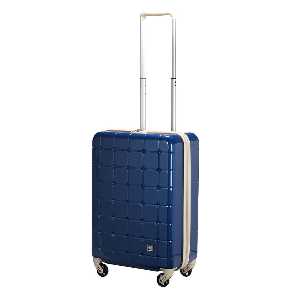 GREEN WORKS(グリーンワークス)/ハードジッパースーツケース|キャリーケース・キャリーバッグ(38L) ディプブルー スーツケース(ハードタイプ)